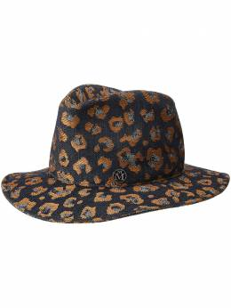 Maison Michel жаккардовая шляпа-федора Enrico 2192010001