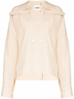 Jil Sander рубашка Maylin с воротником JSPQ600105WQ320900