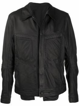 Isaac Sellam Experience куртка с прорезными карманами REFRACTAIIREPLUME