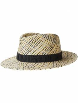 Maison Michel плетеная шляпа Andre Up 1125001001