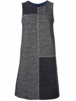 Paule Ka платье-трапеция в стиле колор-блок 078R179C