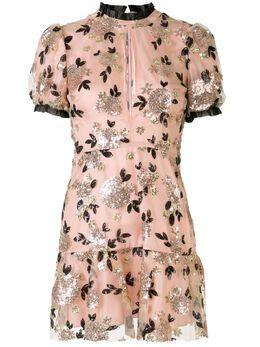 Macgraw платье мини Sparrow с цветочным декором AV29