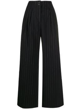 Paul Smith брюки широкого кроя в тонкую полоску W1R121TA01033