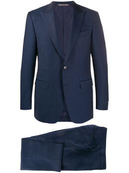 Canali строгий костюм с однобортным пиджаком 1922793BF01466