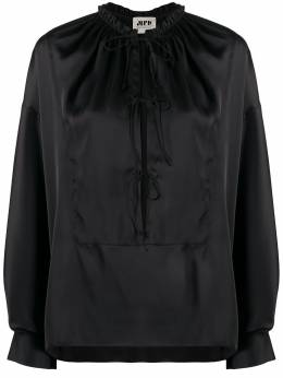 Maison Rabih Kayrouz блузка с завязками T1243