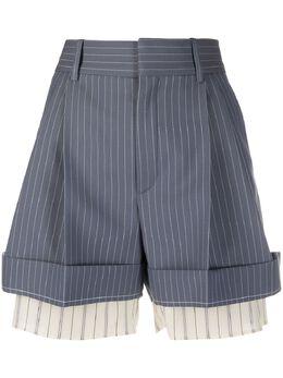 Chloe многослойные шорты в полоску CHC20USH1163