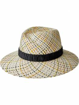 Maison Michel плетеная шляпа-федора Virginie 1001123001