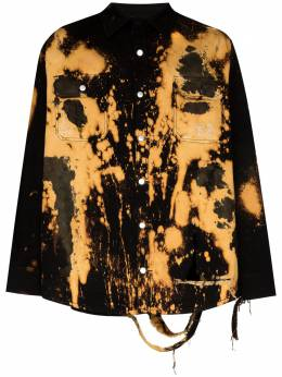 424 рубашка с принтом тай-дай 424MSS20012