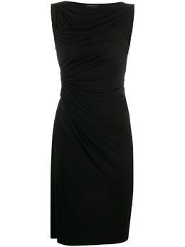Tom Ford приталенное платье со сборками ABJ374FAX162