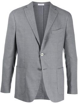 Boglioli однобортный пиджак строгого кроя N2902JBLC404086