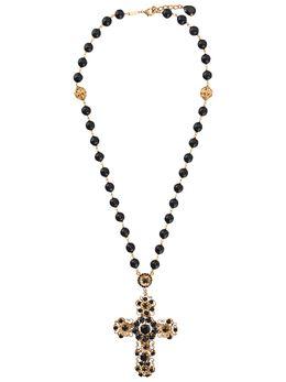 Dolce&Gabbana колье с подвеской в виде креста WNM2D2W1111