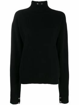 Christopher Kane трикотажный свитер Phantom PHANTOMSWEATER594020AW19BLACK1000