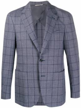 Canali однобортный пиджак в клетку 20276CR02568