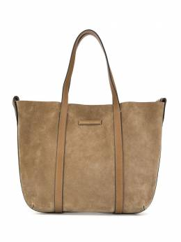Brunello Cucinelli сумка-шопер с тисненым логотипом MBRVD2103C5859