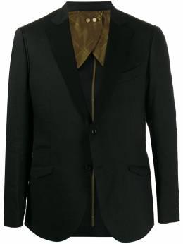 Maurizio Miri пиджак с контрастными лацканами VEGA2296001