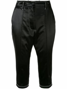 Marine Serre укороченные брюки строгого кроя P003SS20W