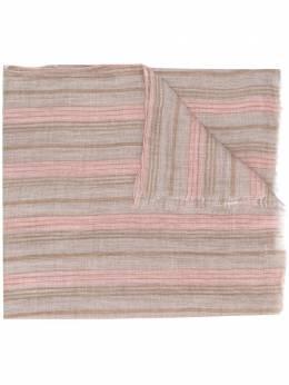 Brunello Cucinelli полосатый шарф MSCDAGL22CD033