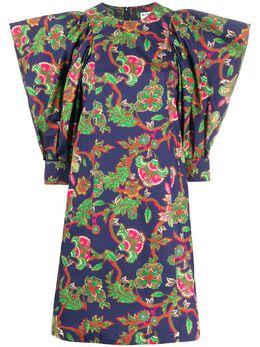 Givenchy платье-трапеция с цветочным принтом BW20XR131T