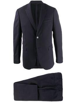 Neil Barrett строгий костюм с однобортным пиджаком BAB171N024