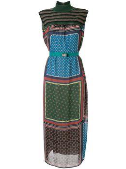 Kolor платье миди со вставками 20SCLO05129