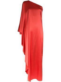 Taller Marmo платье макси Ubud на одно плечо TMSS2002ASilk