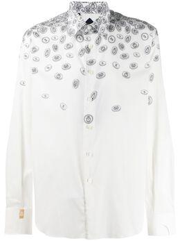 Billionaire рубашка с длинными рукавами и принтом I20CMRP1288BTE002N