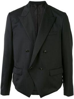 Fumito Ganryu укороченный двубортный пиджак FU3JA06