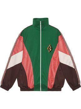 Gucci куртка на молнии с нашивкой G Rhombus 587372XJBOJ