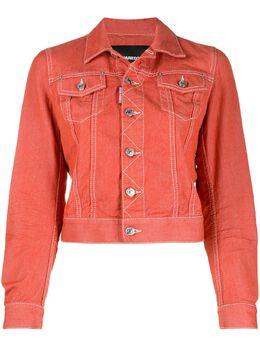 Dsquared2 укороченная джинсовая куртка S72AM0819S30679