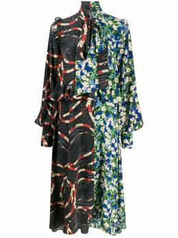 Rokh платье с оборками R6CA98CDC