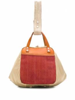 Marni сумка-тоут с сетчатыми вставками SBMQ0014Q0P3319