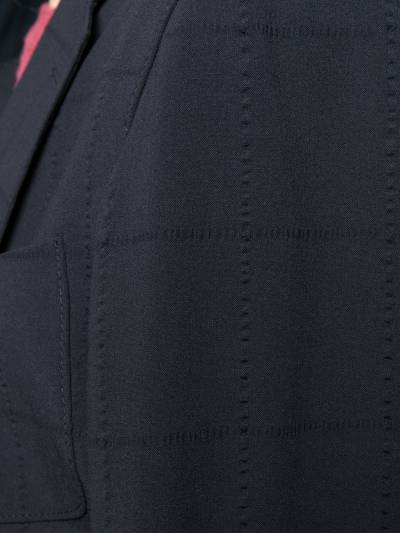 Giorgio Armani пиджак в клетку 8WGGG02BT00NJ - 5