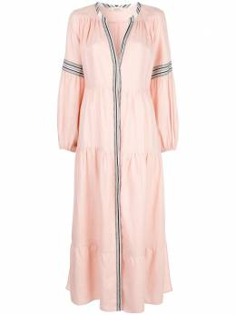 Lemlem расклешенное платье Koki SW2077LIGHTSALMON