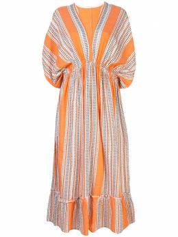 Lemlem пляжное платье Amira SW2044ORANGE