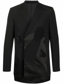 Undercover пиджак с аппликацией UCY41052