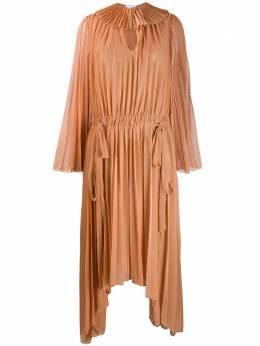 Atu Body Couture плиссированное платье асимметричного кроя ATS2051