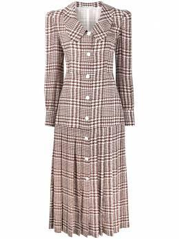 Alessandra Rich платье в ломаную клетку FAB2008F2806