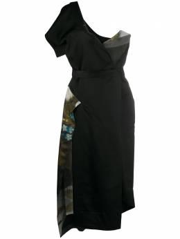 Vivienne Westwood Anglomania платье на одно плечо со вставками S26FP0046S52249