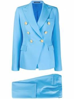 Tagliatore костюм с двубортным пиджаком TALICYA10BS