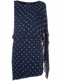 Haney платье мини 'Lucia' с отделкой FA185259
