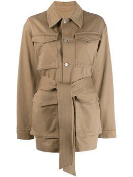 Ami Paris куртка с накладными карманами E20FOW502230
