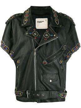 R13 декорированная байкерская куртка R13W7389STD