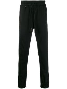Philipp Plein спортивные брюки Gothic с вышивкой A19CMJT1346PTE003N