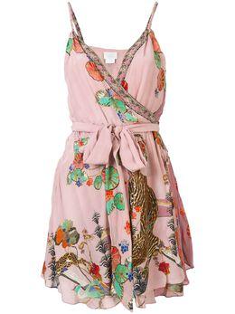 Camilla платье мини Ziba Ziba с запахом 00003470