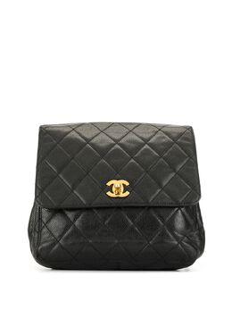 Chanel Pre-Owned рюкзак 1990-х годов с поворотным замком и логотипом CC DECCHA0002