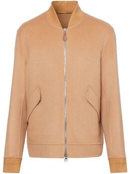 Burberry кашемировая куртка-бомбер 8024082