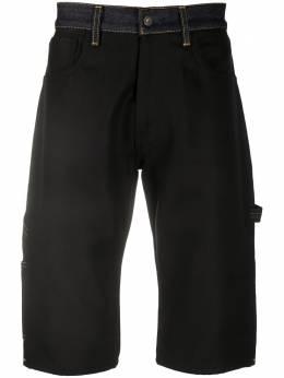 Junya Watanabe Man длинные джинсовые шорты из коллаборации с Levi's WDP218W19