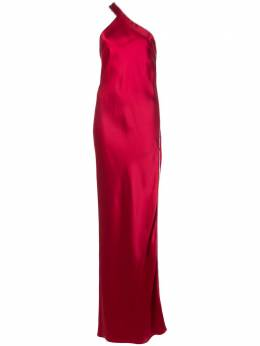 Michelle Mason вечернее платье на одно плечо с декором M9258B