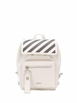 Off-White рюкзак в диагональную полоску OWNB007S20LEA0010310