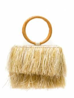 Serpui сумка из рафии с бахромой 9561DENISE